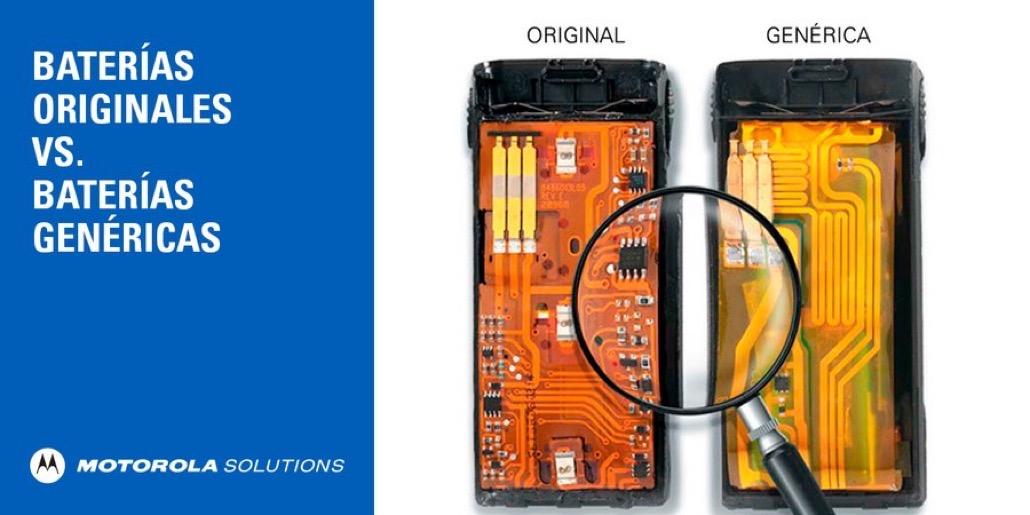 Baterías genéricas vs baterías originales